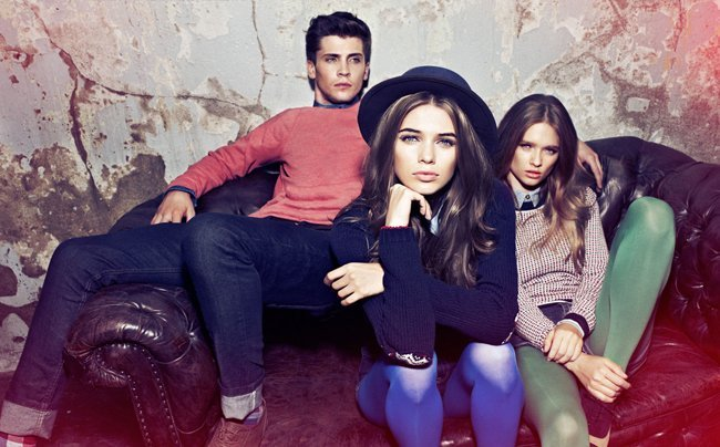Color Catálogo Pull and Bear Invierno 2011