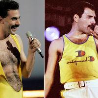 """Cuando Sacha Baron Cohen pudo encarnar a Freddie Mercury dirigido por David Fincher: """"Esas fotos son espectaculares"""""""