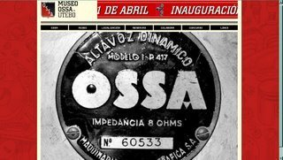 Museo de la marca Ossa