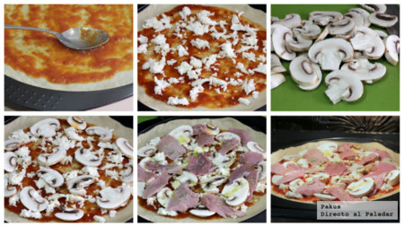 Pizza Lacon Champis Pasos
