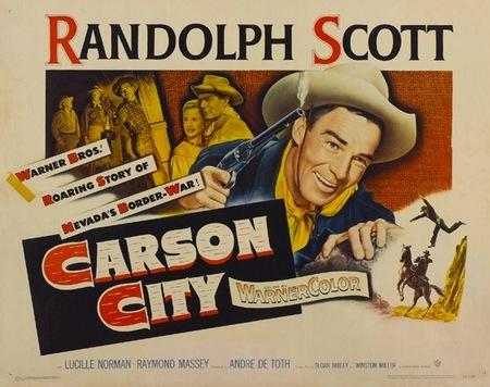 Western: 'Carson City' de André De Toth