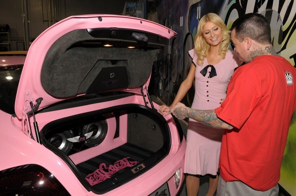 El Bentley Continental Gt De Paris Hilton 50 62