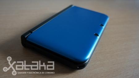 Nintendo 3DS XL formas redondeadas