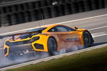 El McLaren MP4-12C GT3 tendrá menos potencia que el modelo de calle