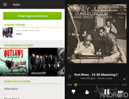 La radio llega a Spotify en la última actualización de la aplicación para Android