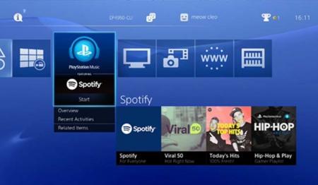 Ya podemos disfrutar de Spotify en nuestro PlayStation