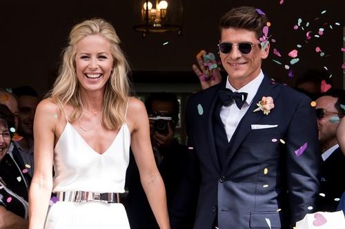Una boda civil desprendiendo estilo: estos vestidos de novia te harán única