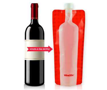 Wine2Go, una botella de vino plegable