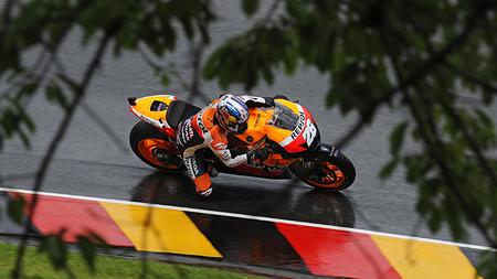 MotoGP Alemania 2012: primeros y complicados pasos en Sachsenring