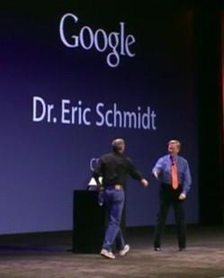 """Dr. Eric Schmidt: """"Apple y Google están trabajando juntas en nuevos proyectos"""""""