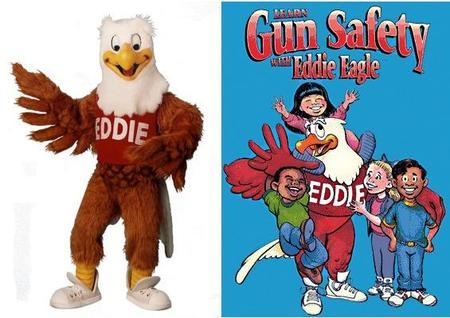 """""""Eddie Eagle"""" o la Asociación del Rifle para niños"""