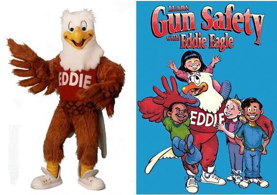 Armas para niños Eddie Eagle