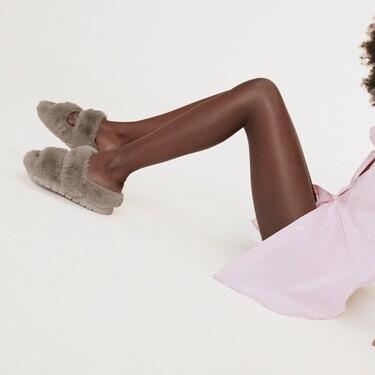 Clonados y pillados: las famosas sandalias (o zapatillas) de pelo de Celine ya se encuentran en Zara