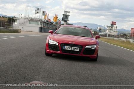 Audi R8 V10 S-Tronic en el Jarama