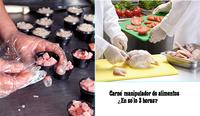 Vergonzosos cursos de manipulador de alimentos