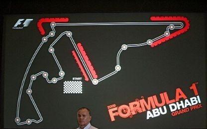 Exhibición de Fórmula 1 en Abu Dhabi