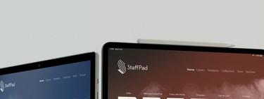 StaffPad, la app de notación musical, llega a iPadOS