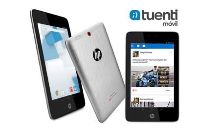 Tuenti Móvil y HP lanzan un tablet 3G con conexión para un año incluida por 219 euros