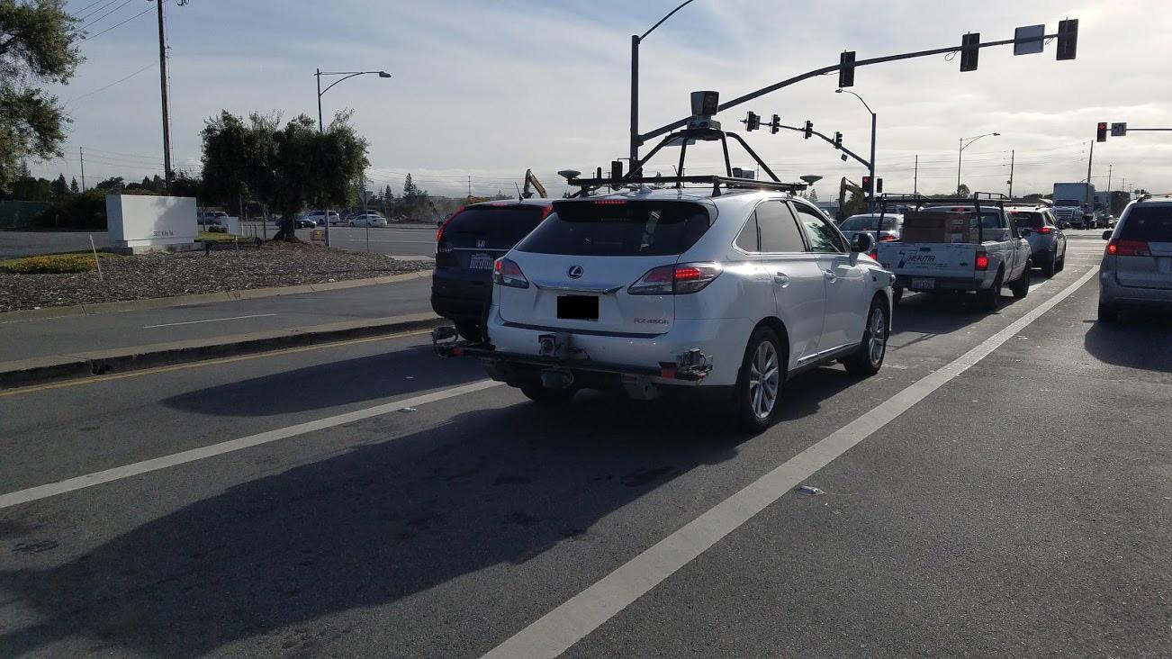applesfera.com - Cristian Rus - El primer coche autónomo que está utilizando Apple ha sido cazado en Silicon Valley