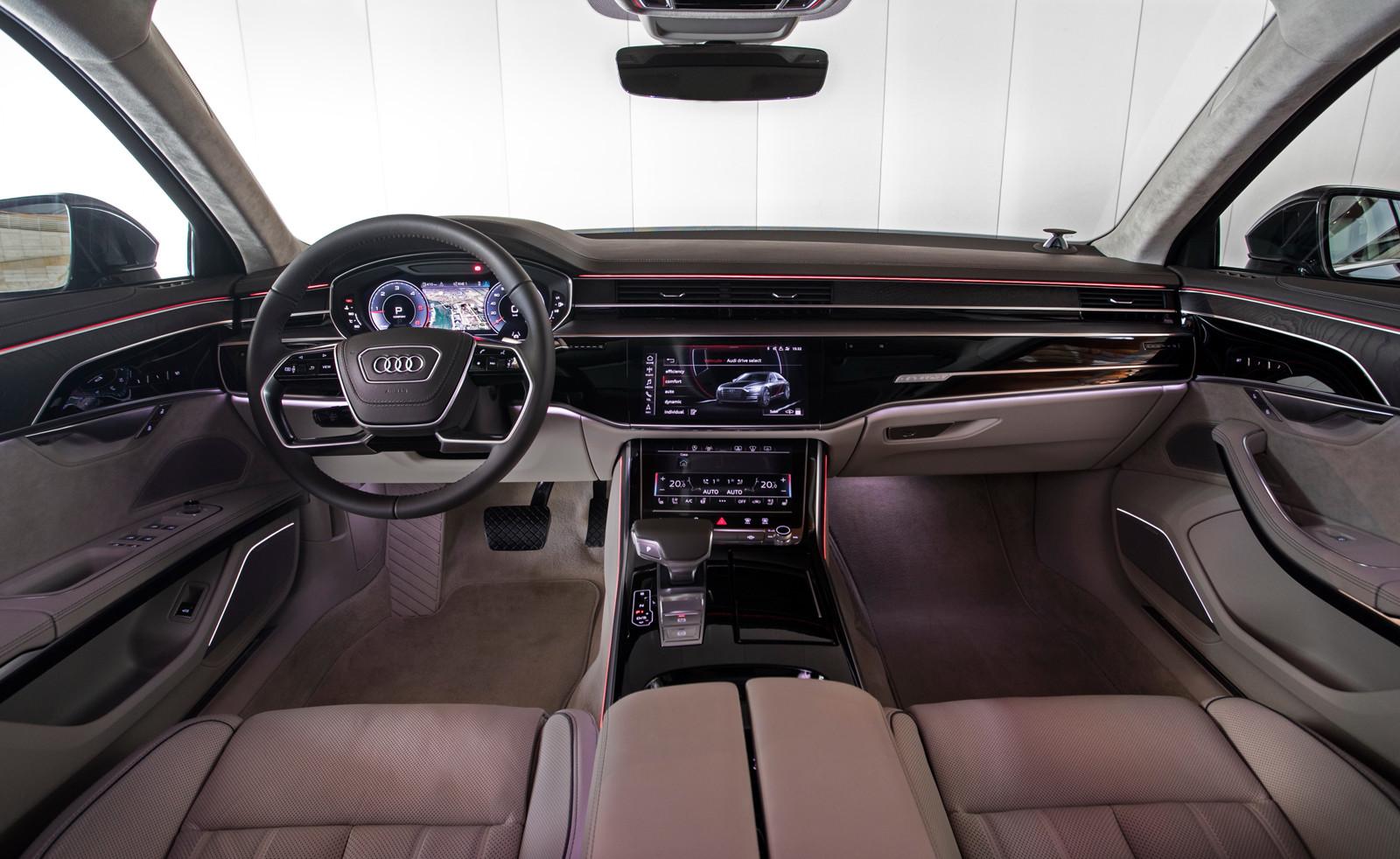 Foto de Audi A8 2018 (presentación) (59/81)