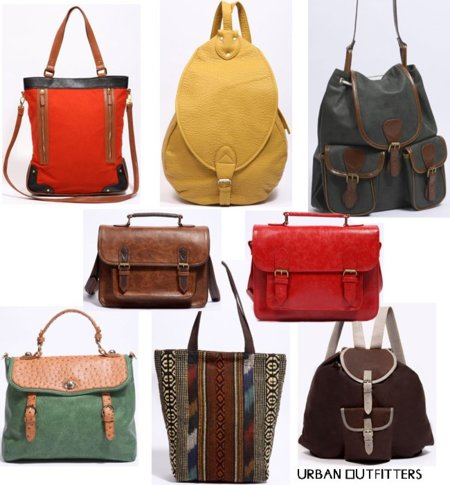 Urban Outfiters bolsos