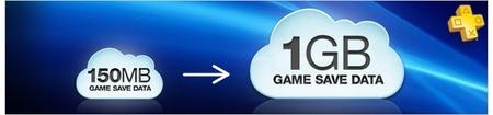 El almacenamiento en la nube para los miembros de PlayStation Plus sube hasta 1GB
