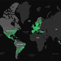Spotify nos detalla en un mapa cuales son los gustos musicales según la zona geográfica