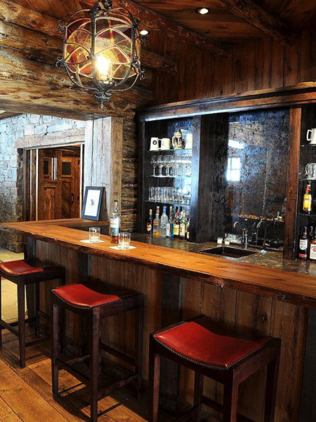 17 ideas para tener tu bar en casa for Bares rusticos pequenos