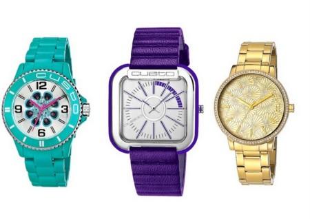 Custo On Time, relojes vibrantes para la primavera