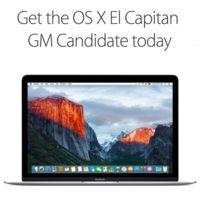 ¿No quieres esperar hasta el 30 de septiembre? OS X El Capitan GM llega al canal público
