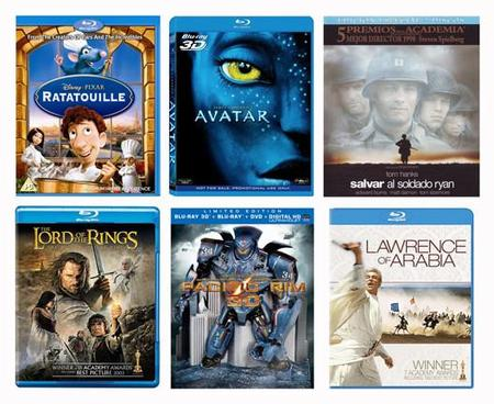 Diez películas en BD que puedes exhibir para presumir de equipo de cine en casa