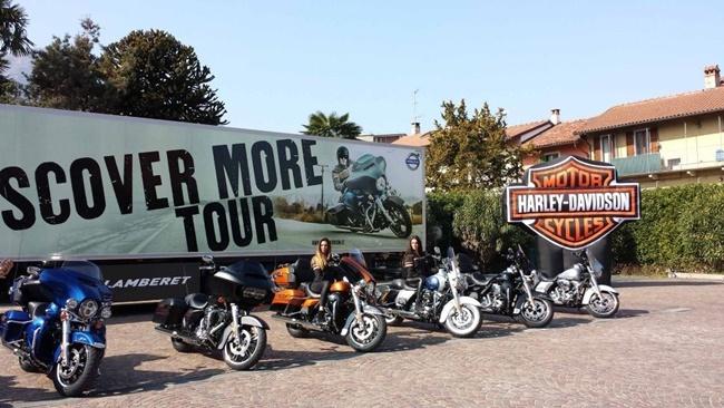 Harley-Davidson Discover More Tour
