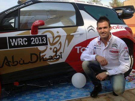 Dani Sordo vuelve a Citroën con ganas de dar guerra
