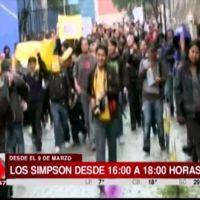 'Los Simpson' dan las gracias a sus fans bolivianos