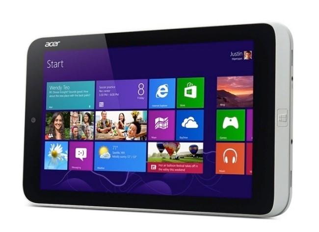Acer Iconia W3 pantalla