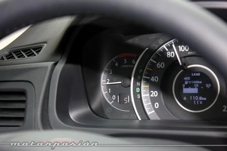 Honda CR-V con transmisión automática