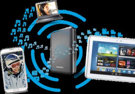 Samsung Wireless Media Drive, el nuevo disco duro inalámbrico de Samsung y Seagate