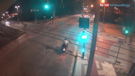 Coche Policia Vias De Metro Malaga