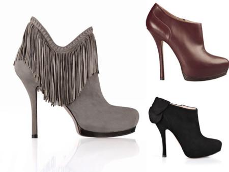 Zapatos de invierno: abotinados para combinar con falda y pantalón