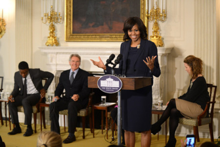 Casa Blanca Michelle Obama look