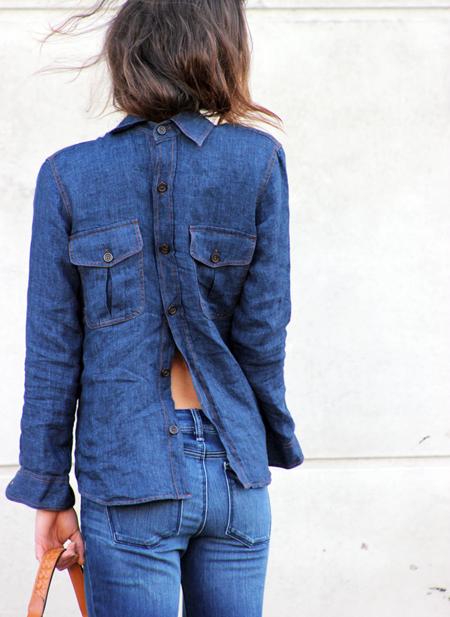 Dale una vuelta a cómo llevar tu camisa. O mejor dicho, media