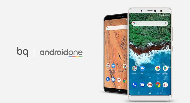 Bq Aquaris X2 con Android One