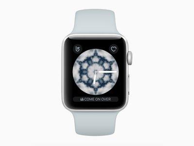 Como crear una esfera Caleidoscopio propia en el Apple Watch a partir de una fotografía