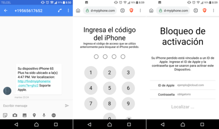 Phishing Iphone Cdmx