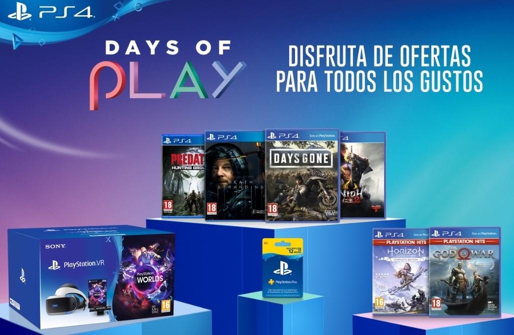 La promoción Days of Play de PS4 regresa con ofertas de PS VR, PS Plus y descuentos en juegos como Death Stranding por 30 euros