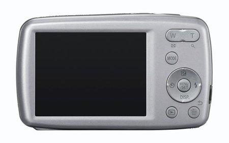 Vista trasera Panasonic Lumix DMC-S1 gris