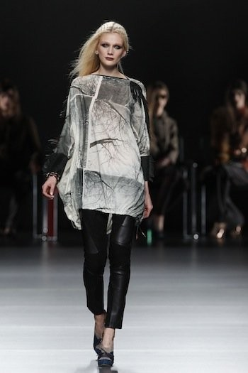 Ion Fiz en Cibeles Madrid Fashion Week Otoño-Invierno 2011/2012