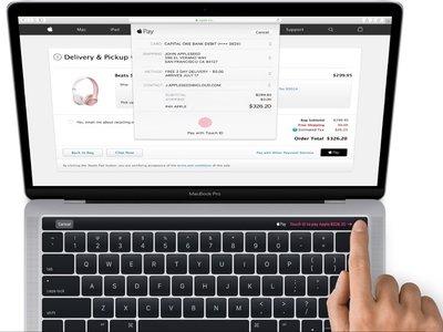 Estas serían las primeras imágenes del nuevo MacBook Pro con Magic Toolbar