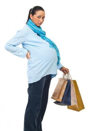 Dolor de espalda embarazada