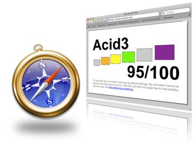 Webkit, el motor de Safari a punto de superar el test Acid3